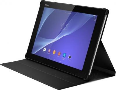 Чехол для планшета Sony SCR-12ROW (черный) - в разложенном виде