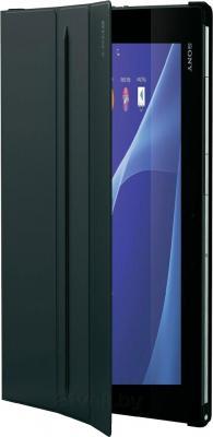 Чехол для планшета Sony SCR-12ROW (черный) - в открытом состоянии
