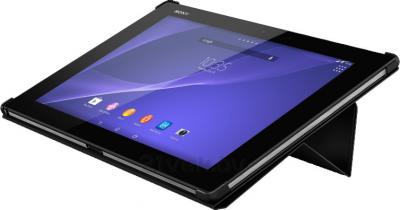 Чехол для планшета Sony SCR-12ROW (черный) - в виде подставки