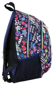 Рюкзак городской Paso 81-178C - вид сбоку