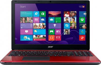 Ноутбук Acer Aspire E1-572G-54206G1TMnrr (NX.MJKER.002) - фронтальный вид