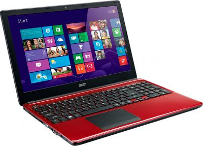 Ноутбук Acer Aspire E1-572G-54206G1TMnrr (NX.MJKER.002) - общий вид
