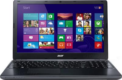 Ноутбук Acer Aspire E1-572G-74506G1TMnkk (NX.MJLER.004) - фронтальный вид