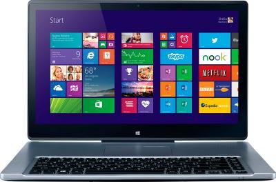Ноутбук Acer Aspire R7-572-54206G50ass (NX.M94ER.001) - фронтальный вид