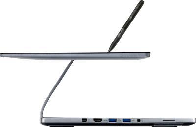 Ноутбук Acer Aspire R7-572-54206G50ass (NX.M94ER.001) - вид сбоку