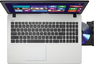 Ноутбук Asus X552EA-SX008H - вид сверху