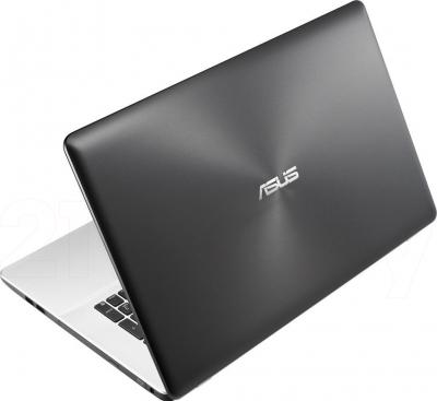 Ноутбук Asus K750JA-TY005H - вид сзади