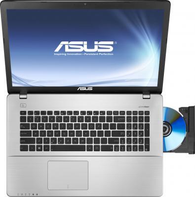 Ноутбук Asus K750JA-TY005H - вид сверху