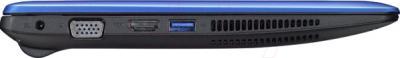 Ноутбук Asus X200LA-CT004H - вид сбоку