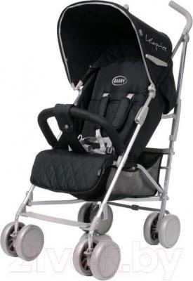 Детская прогулочная коляска 4Baby Le Caprice (черный) - общий вид