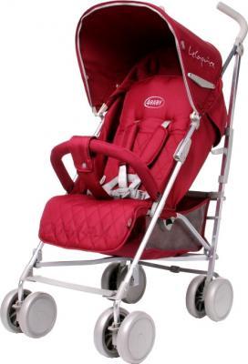 Детская прогулочная коляска 4Baby Le Caprice (красный) - общий вид