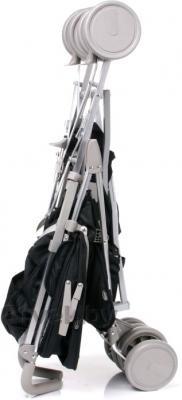 Детская прогулочная коляска 4Baby Le Caprice (серый) - в сложенном виде (цвет Black)