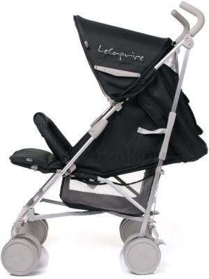 Детская прогулочная коляска 4Baby Le Caprice (серый) - наклон спинки (цвет Black)