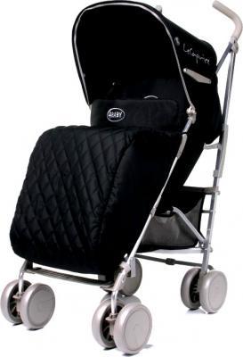 Детская прогулочная коляска 4Baby Le Caprice (серый) - чехол для ног (цвет Black)