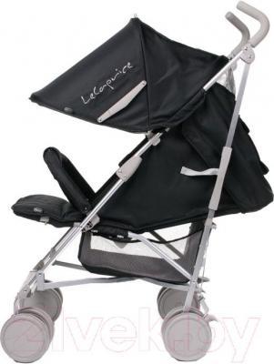Детская прогулочная коляска 4Baby Le Caprice (синий) - вид сбоку