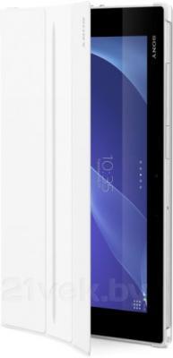 Чехол для планшета Sony SCR-12ROW (белый) - в раскрытом виде