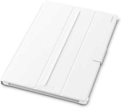 Чехол для планшета Sony SCR-12ROW (белый) - вполоборота