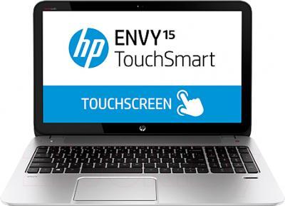 Ноутбук HP ENVY TouchSmart 15-j151sr (F7S85EA) - вид спереди