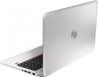 Ноутбук HP ENVY TouchSmart 15-j151sr (F7S85EA) - вид сзади