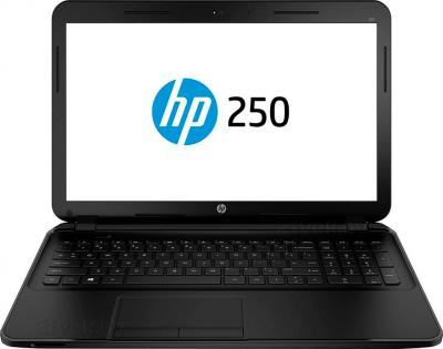 Ноутбук HP 250 G2 (F7Y96EA) - фронтальный вид