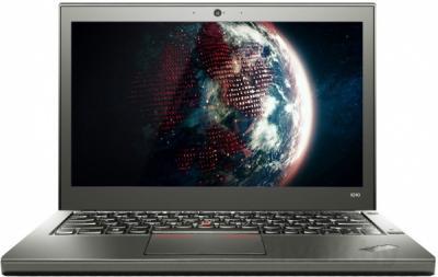 Ноутбук Lenovo ThinkPad X240 (20AMA1NART) - фронтальный вид