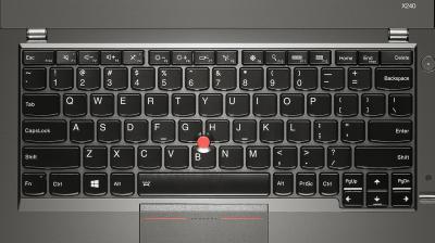 Ноутбук Lenovo ThinkPad X240 (20AMA1NART) - клавиатура