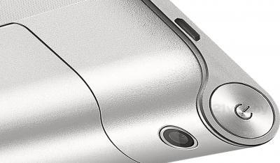 Планшет Lenovo Yoga Tablet 8 B6000 16GB 3G (59388122) - кнопка включения