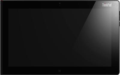 Планшет Lenovo ThinkPad Tablet 2 64GB 3G (N3T42RT) - фронтальный вид