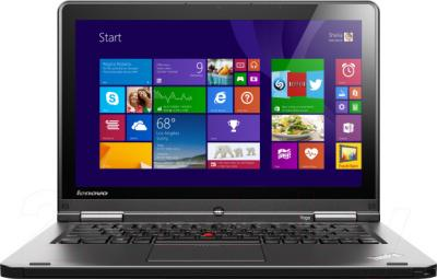 Ноутбук Lenovo ThinkPad S1 YOGA (20CD00A4RT) - фронтальный вид