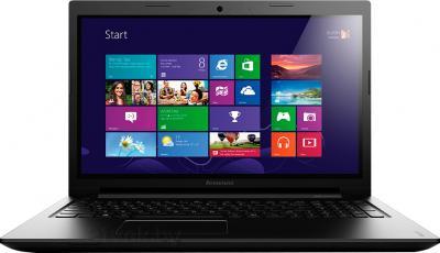 Ноутбук Lenovo IdeaPad S510p (59391666) - фронтальный вид