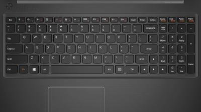 Ноутбук Lenovo IdeaPad S510p (59391666) - клавиатура