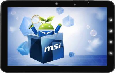 Планшет MSI Enjoy 7 Cortex (9S7-N7Y111-002) - фронтальный вид