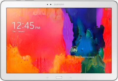 Планшет Samsung Galaxy Note Pro 12.2 32GB LTE White (SM-P905) - фронтальный вид
