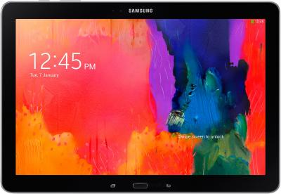 Планшет Samsung Galaxy Note Pro 12.2 32GB LTE Dynamic Black (SM-P905) - фронтальный вид