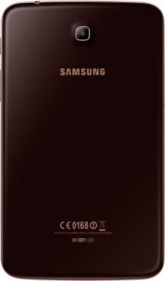 Планшет Samsung Galaxy Tab 3 7.0 16GB 3G Gold Brown (SM-T211) - вид сзади