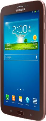 Планшет Samsung Galaxy Tab 3 7.0 16GB 3G Gold Brown (SM-T211) - полубоком