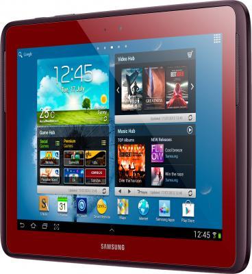 Планшет Samsung Galaxy Note 10.1 16GB 3G Garnet Red (GT-N8000) - общий вид