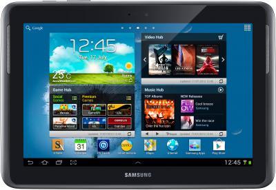 Планшет Samsung Galaxy Note 10.1 16GB LTE Deep Gray (GT-N8020)  - фронтальный вид