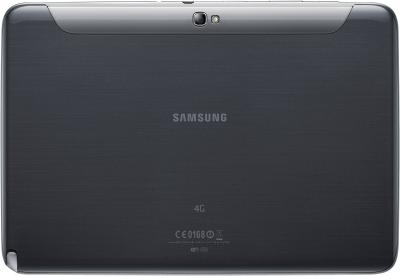 Планшет Samsung Galaxy Note 10.1 16GB LTE Deep Gray (GT-N8020)  - вид сзади