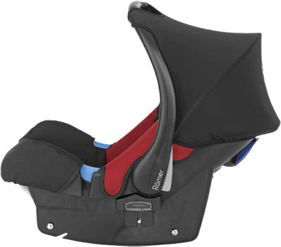 Автокресло Romer Baby-Safe Plus (Black Thunder Trendline) - вид сбоку