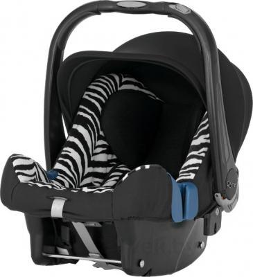 Автокресло Romer Baby-Safe Plus SHR II (Smart Zebra Highline) - общий вид