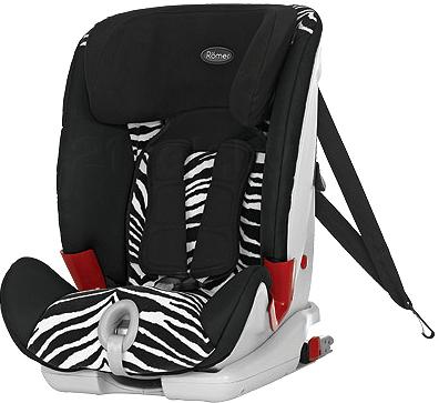 Автокресло Romer Xtensafix (Smart Zebra Highline) - общий вид