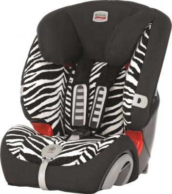 Автокресло Britax Evolva 1-2-3 Plus (Smart Zebra Highline) - общий вид