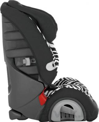 Автокресло Britax Evolva 1-2-3 Plus (Smart Zebra Highline) - вид сбоку