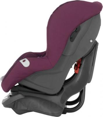 Автокресло Britax First Class Plus (Crown Blue Trendline) - вид сбоку (цвет Grape)
