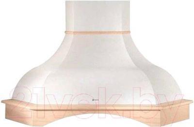 Вытяжка купольная Faber West Angolo WH SC - общий вид