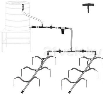 Система капельного полива Startul ST6018-03 - общий вид