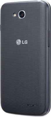 Смартфон LG L70 / D320 (черный) - задняя панель
