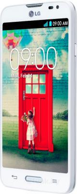 Смартфон LG L70 / D320 (белый) - полубоком