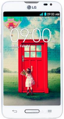 Смартфон LG L70 / D320 (белый) - общий вид